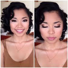 mac makeup 50 s glam hair makeup prom hair makeup by