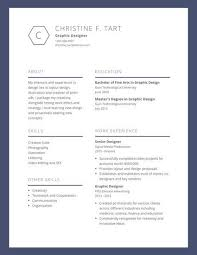 Blue Bordered Graphic Design Resume - Templates By Canva