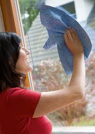 best way to clean windows doors if