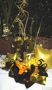 50th birthday party decorations. 50th Birthday Party Gold Table Decor Decoration For Decorations T