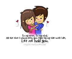 Love Quotes For Him With Cartoon Images