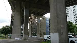 a 16 foot chandelier has been approved by vancouver s city council to illuminate one such forgotten passageway