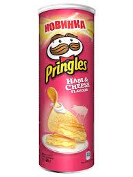 <b>Картофельные чипсы со вкусом</b> Ветчины и Сыра165 гр Pringles ...
