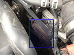 troubleshooting repairing the nissan xterra air conditioning image 2 3 locate your air conditioning compressor the clutch is the center