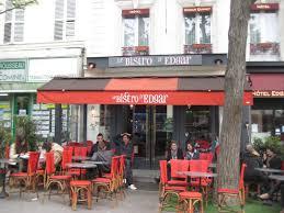 Hotel Edgar Quinet Le Bistrot Dedgar Restaurant A Paris