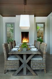 mediterranean dining room furniture. Square Bistro Table Dining Room Mediterranean With Wood Ceiling Furniture