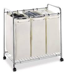 @Overstock.com - Organize It All 3-section Laundry Sorter - Make organizing