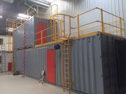 Fire Training Unit Shipping Container Conversion Fire Training Unit Shipping  Container Conversion