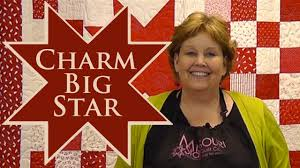 Charm Big Star Quilt- Quilting With Charm Packs! - YouTube &  Adamdwight.com