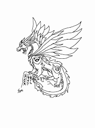Chinese Dragon Coloring Pages Easy Printable Coloring Page For Kids