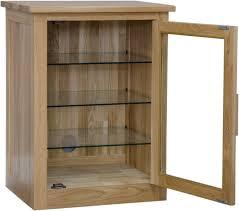 Living Room Furniture Cabinet Arden Solid Oak Furniture Hi Fi Stereo Storage Cabinet Modern