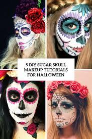 5 diy sugar skull makeup tutorials for cover