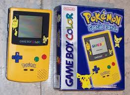 Innovative Ideas Gameboy Color Pokemon Retro Unboxing Game Boy