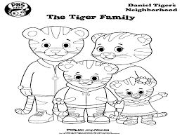 Adult Daniel Tiger Coloring Pages Daniel Tiger Coloring Pages To