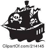 Image result for free black pirate clip art