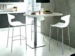 Table Haute Cuisine Avec Tabouret Idée De Modèle De Cuisine