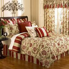 The Home Decorating Company Amazoncom Waverly Imperial Dress Brick King Comforter Set