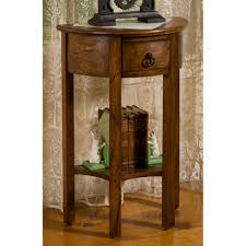 Accent Table Decorating Ideas Nice Half Round Accent Table For Living Room Decor Home Ideas