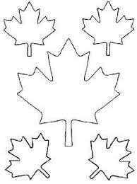 Small Picture Maple Leaf Cut Out Templates of Canada Day Coloring Pages