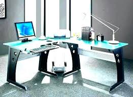 Glass top office furniture Clear Glass Glass Top Office Desk Glass Home Office Desks Contemporary Home Office Furniture Desk Corner Desks Sets Undocumentedimmigrationcom Glass Top Office Desk Avpetclinicinfo