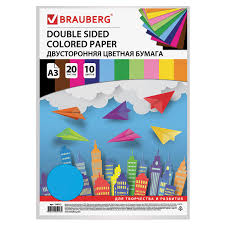 Купить <b>Цветная бумага</b> БОЛЬШОГО ФОРМАТА А3 ...