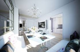 white living room sitting area with beautiful chandelier beautiful white living room