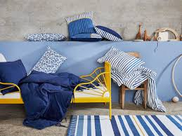 A White Blue And Totally You Childrens Textile Collection