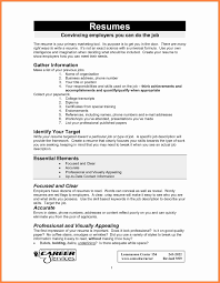 Skills Needed For A Job Resume Surprising How To Do A Job Resume