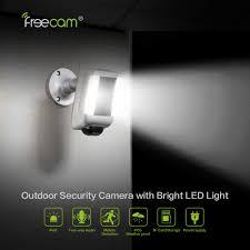 Motion Light With Alarm Freecam 1080p Spotlight Cam Outdoor Camera Security Camera