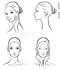 スキンケア 美容 女性のイラスト素材 982999 Pixta