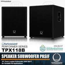 sound system with subwoofer. speaker subwoofer pasif sound system turbosound performer tpx118b - turbo sound 18 inch with