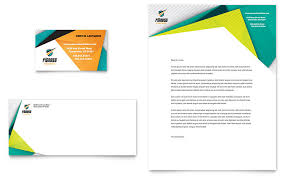 Letterhead Designs Templates Fitness Trainer Business Card Letterhead Template Design