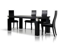 dining sets with chairs classic black oak dining table set