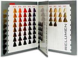 Goldwell Elumen Color Chart Book Color Chart
