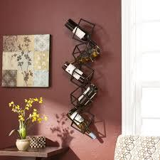 on metal wall wine racks art with wine racks wall mounted do it yourself indoor outdoor decor