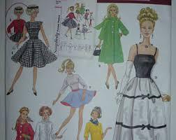 Barbie Doll Clothes Patterns Best Barbie Clothes Patterns Etsy
