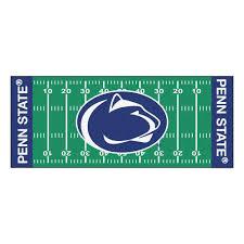 fanmats penn state university 3 ft x 6 ft football field runner rug