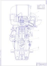 Курсовая по машиностроению дипломная по машиностроение учебные  Дипломный проект Проект вспомогательного судового дизеля на базе двигателя 6ЧН 18 22 ДРА