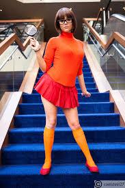 scoobydoo velma girls costume