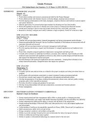 Analyst Resume Epic Analyst Resume Samples Velvet Jobs 19