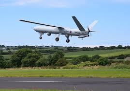 uk conducts first large drone flight in unrestricted aire