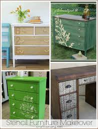 stenciling furniture ideas. Top Furniture Makeovers Stenciling Ideas I