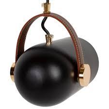 Pendelleuchte Schwarz Hängeleuchte E27 Lampe Metall Design Leuchte 60 Watt