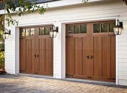 there is a carriage house door available to match any home design most homeowners we speak with are surprised at how affordable wood garage doors can be
