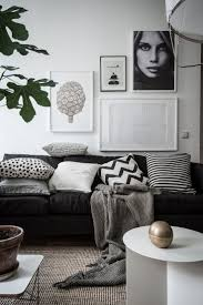 Black And White Living Room Best 10 Monochrome Interior Ideas On Pinterest Hairpin Table