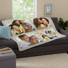 Personalized Throw Blankets at Personal Creations & Photo Tile Plush Blanket Adamdwight.com