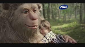 """Реклама <b>Zewa Deluxe</b>   <b>Бумага</b> Зева - """"Снежный человек"""" - YouTube"""