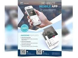 free flyer maker app free flyer app mobile promotion templates design template for cv in