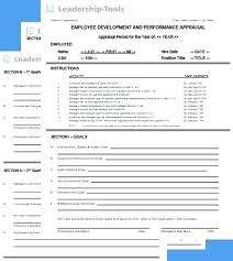 Employee Evaluation Form New Performance Appraisals Templates ...