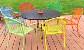 painting wrought iron furniture. Wrought Iron Garden Furniture View In Gallery Repainting Is Easy With Spray Paint For Sale Cape Town Painting I